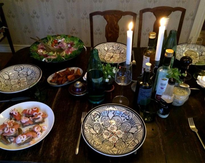 middagsbord